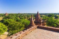 Bagan buddha tower at day Stock Photos