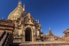 Bagan buddha tower at day Royalty Free Stock Photos