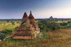 Bagan buddha tower at day Stock Image