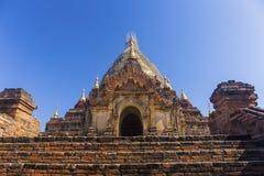 Bagan buddha tower at day Stock Photo