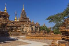 Bagan buddha tower at day Royalty Free Stock Photo