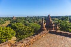 Bagan Buddha wierza przy dniem Zdjęcie Royalty Free