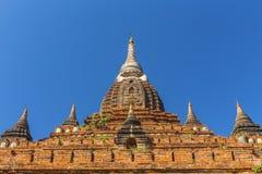 Bagan Buddha wierza przy dniem Obraz Stock