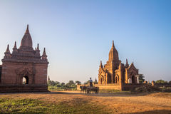 Bagan Burma Foto de Stock Royalty Free