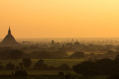 Bagan Burma images stock