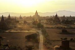 bagan Burma Myanmar rujnować świątynie Zdjęcia Royalty Free