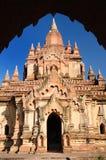 bagan burma myanmar s tempel Arkivbilder