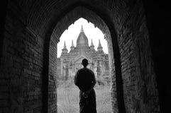 Bagan dalla Birmania Fotografia Stock