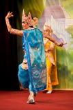 Bagan Dance, Myanmar Stock Photo