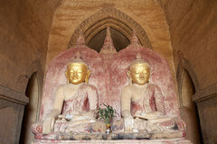 bagan dhammayangyi缅甸寺庙 库存照片