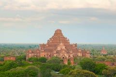 bagan dhammayangyimyanmar tempel Royaltyfria Foton
