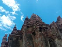 Bagan Earthquake 2016 Photo stock
