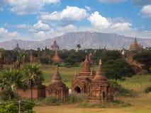 Bagan forntida stad Arkivfoto