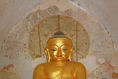 Bagan Gawdawpalin寺庙菩萨图象,缅甸 免版税库存图片