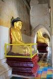 Bagan Gawdawpalin寺庙菩萨图象,缅甸 图库摄影