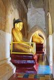 Bagan Gawdawpalin寺庙菩萨雕象,缅甸 免版税库存图片