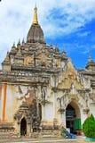 Bagan Gawdawpalin寺庙,缅甸 免版税图库摄影