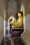 Bagan Gawdawpalin Temple Buddha Image, Myanmar imagen de archivo libre de regalías