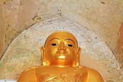 Bagan Gawdawpalin Temple Buddha Image, Myanmar Imágenes de archivo libres de regalías
