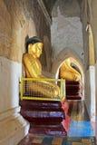 Bagan Gawdawpalin Temple Buddha Image, Myanmar Imagenes de archivo