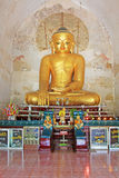 Bagan Gawdawpalin Temple Buddha Image, Myanmar Royalty Free Stock Images