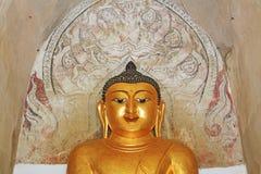 Bagan Gawdawpalin Temple Buddha Statue Myanmar Royaltyfria Bilder