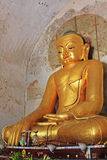 Bagan Gawdawpalin Temple Buddha Statue, Myanmar Foto de archivo