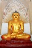 Bagan Gawdawpalin Temple Buddha Statue Myanmar Royaltyfri Bild