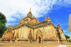 Bagan Gawdawpalin Temple, Myanmar Imagenes de archivo