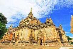 Bagan Gawdawpalin Temple Myanmar Arkivbilder