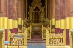 Bagan Golden Palace in Old Bagan Stock Photo