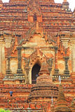 bagan htilominlo缅甸寺庙 库存照片