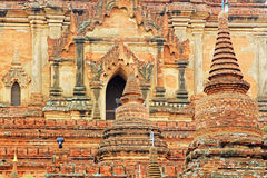 bagan htilominlo缅甸寺庙 免版税库存图片