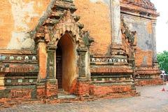 bagan htilominlo缅甸寺庙 免版税图库摄影
