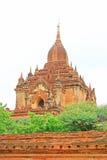 bagan htilominlo缅甸寺庙 库存图片