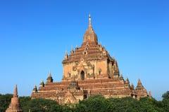 bagan htilominlo Myanmar świątynia zdjęcie stock