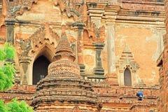 bagan htilominlo Myanmar świątynia Zdjęcia Stock