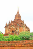 bagan htilominlomyanmar tempel arkivbilder