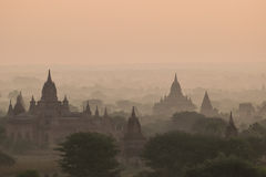 Bagan. The landscape of Bagan,Myanmar Royalty Free Stock Photography