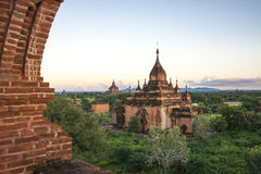 Bagan landscape Royalty Free Stock Photography