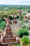 Bagan landscape Royalty Free Stock Photos