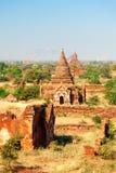 Bagan linia horyzontu, Myanmar Obraz Royalty Free