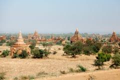 Bagan linia horyzontu, Myanmar Obraz Stock