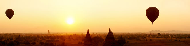 Bagan Myanmar Zdjęcie Stock