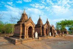 BAGAN - 4. MAI: Tempel in Bagan 4,2013 im Mai, Bagan, Myanmar Stockfotografie