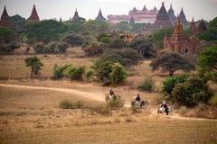 Bagan, Mandalay Myanmar Photo libre de droits