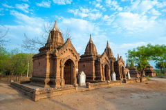 BAGAN -MAY 4 : Temples in Bagan on MAY 4,2013, Bagan, Myanmar. Stock Photography