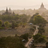 Bagan, miasto tysiąc świątyni Zdjęcie Royalty Free
