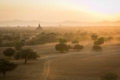 Bagan, miasto tysiąc świątyni Obraz Stock