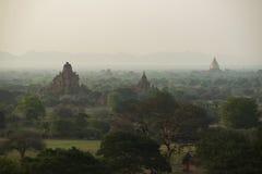 Bagan morgens, Myanmar Lizenzfreie Stockbilder
